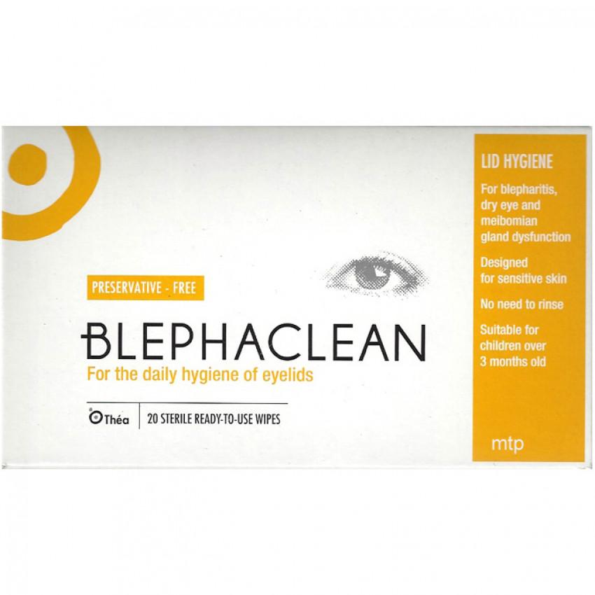 Blephaclean Sterile Pads 20