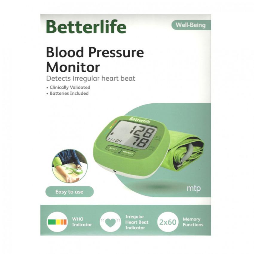 Betterlife Blood Pressure Arm Monitor