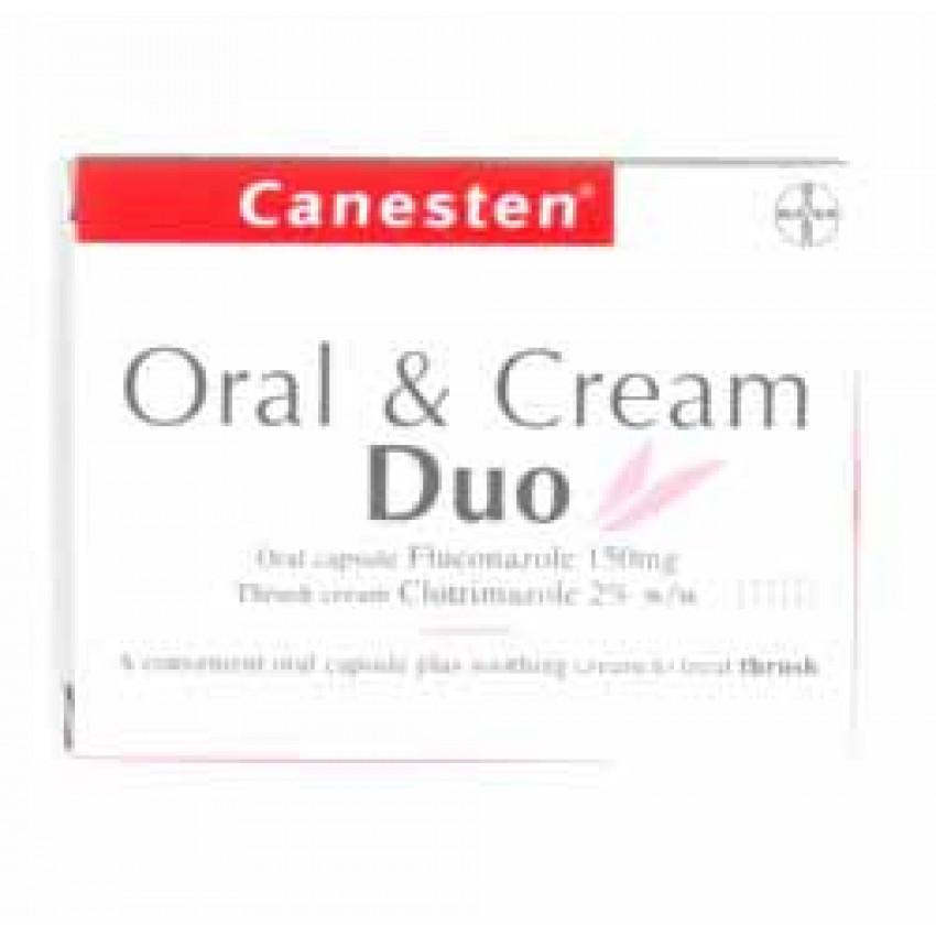 Canesten Oral and Cream Duo (10g + 1)