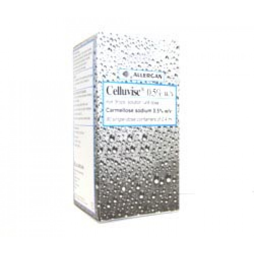 Celluvisc (Carmellose) 0.5% w/v Eye Drops Unit Dose 0.4ml 90