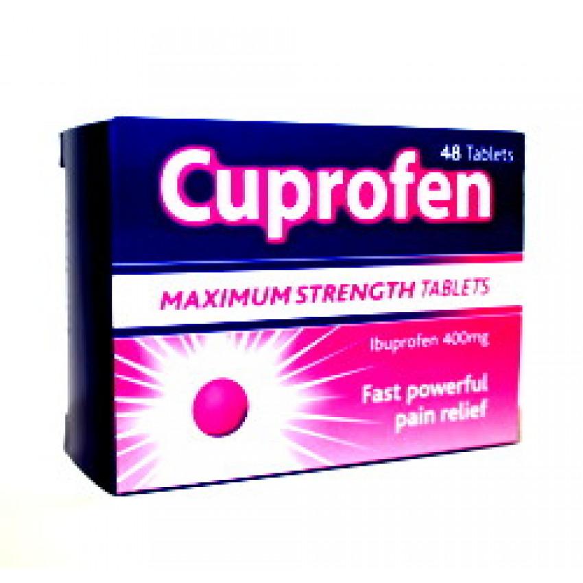 Cuprofen Maximum Strength Tablets 48