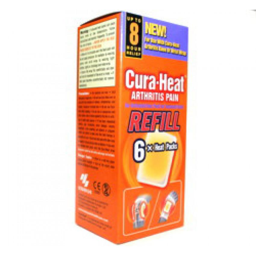 Cura-Heat Arthritis Pain Refill Heat Packs 6