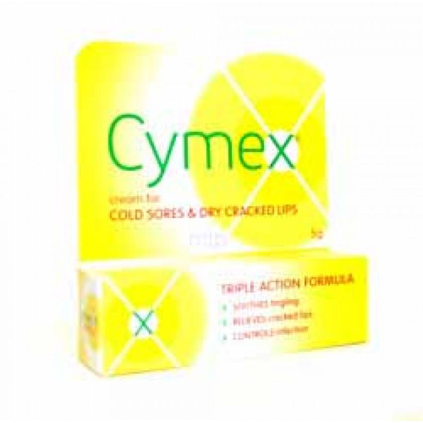 Cymex Cream For Cold Sores 5g