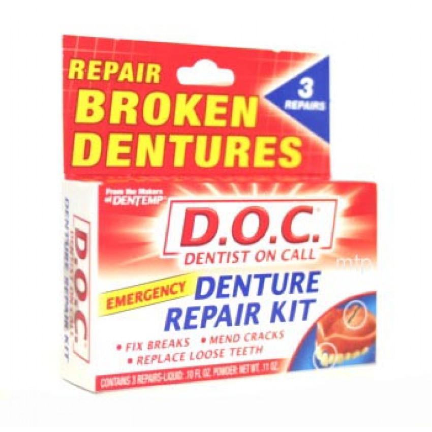 Dentemp 'Dentist on Call' Denture Repair Kit 11Oz