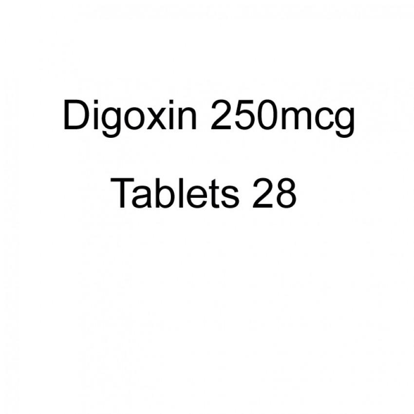Digoxin 250mcg Tablets 28