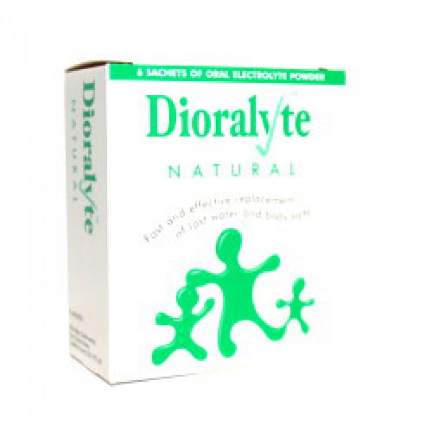 Dioralyte Natural Sachets 6
