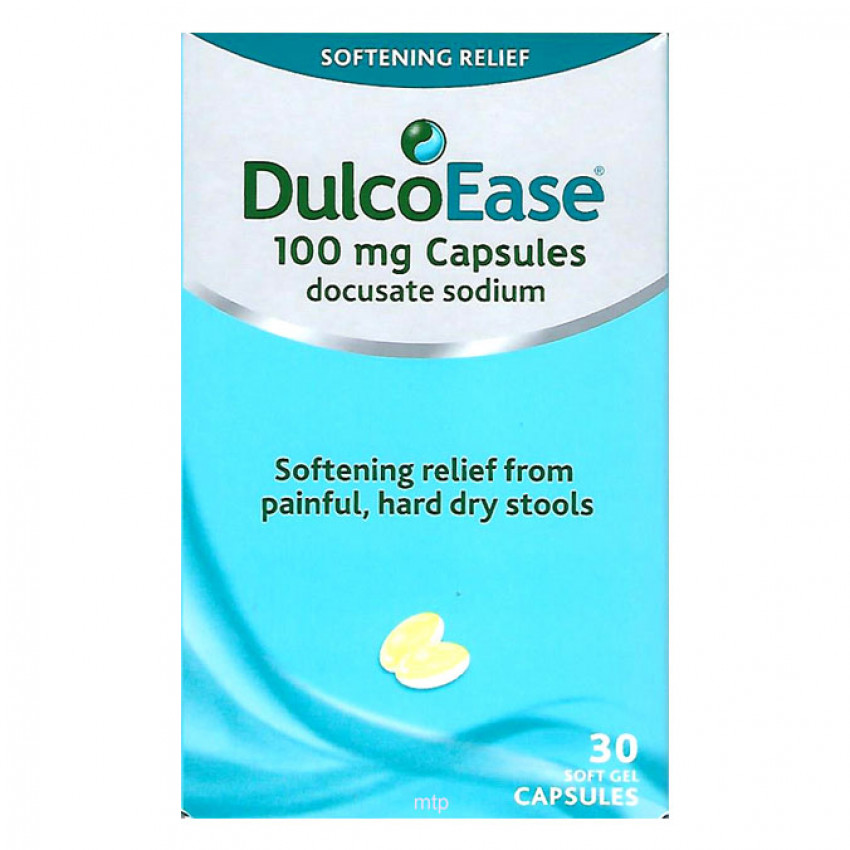DulcoEase 100mg Capsules 30