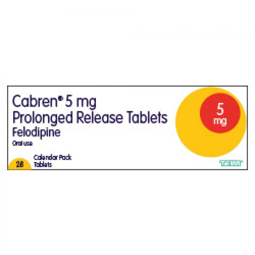 Felodipine PR 5mg Tablets 28 UK