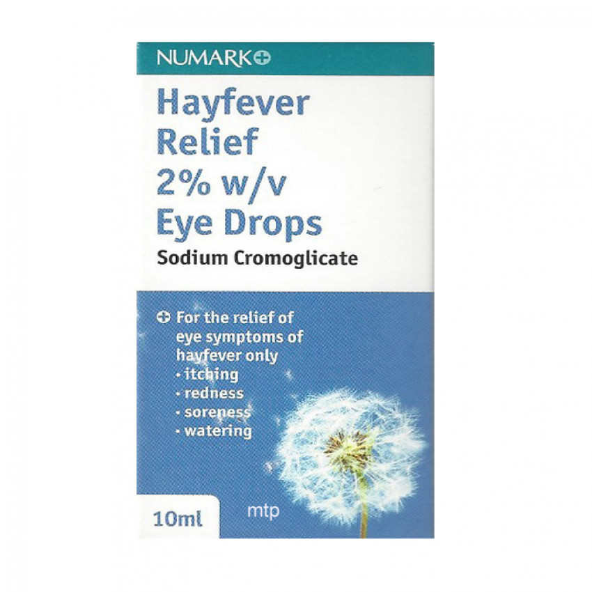 Hayfever Relief 2% Eye Drops 10ml