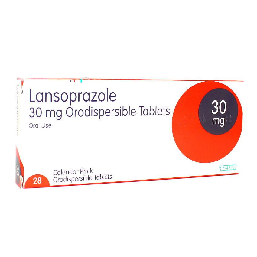 Lansoprazole Orodispersible 30mg Tablets 28