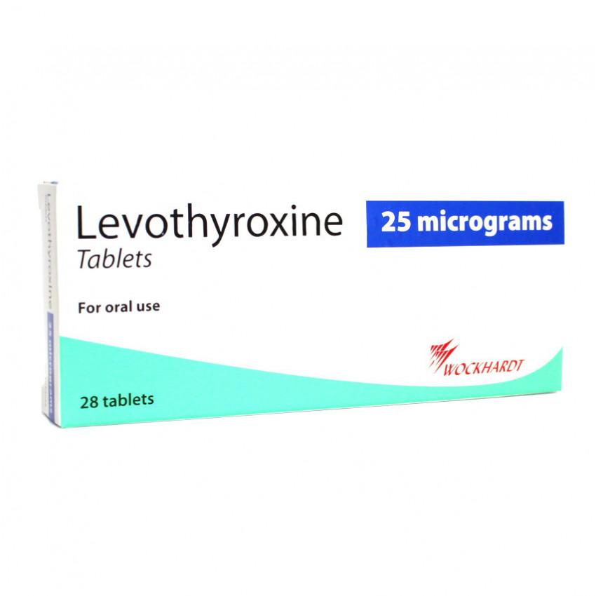 Levothyroxine 25mcg Tablets 28