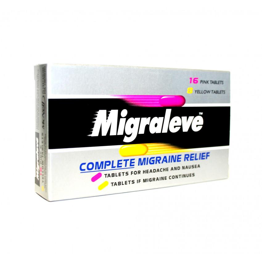 Migraleve Complete Migraine Relief Tablets 24