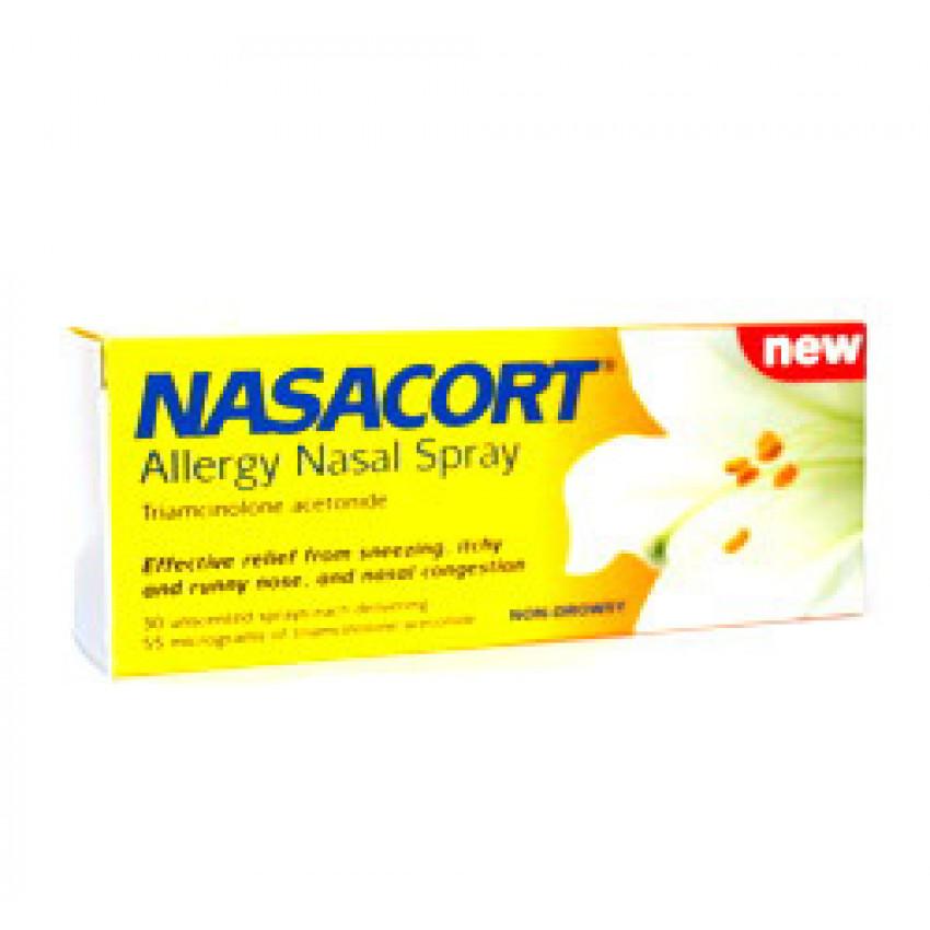 Nasacort Allergy Nasal Spray 30 sprays