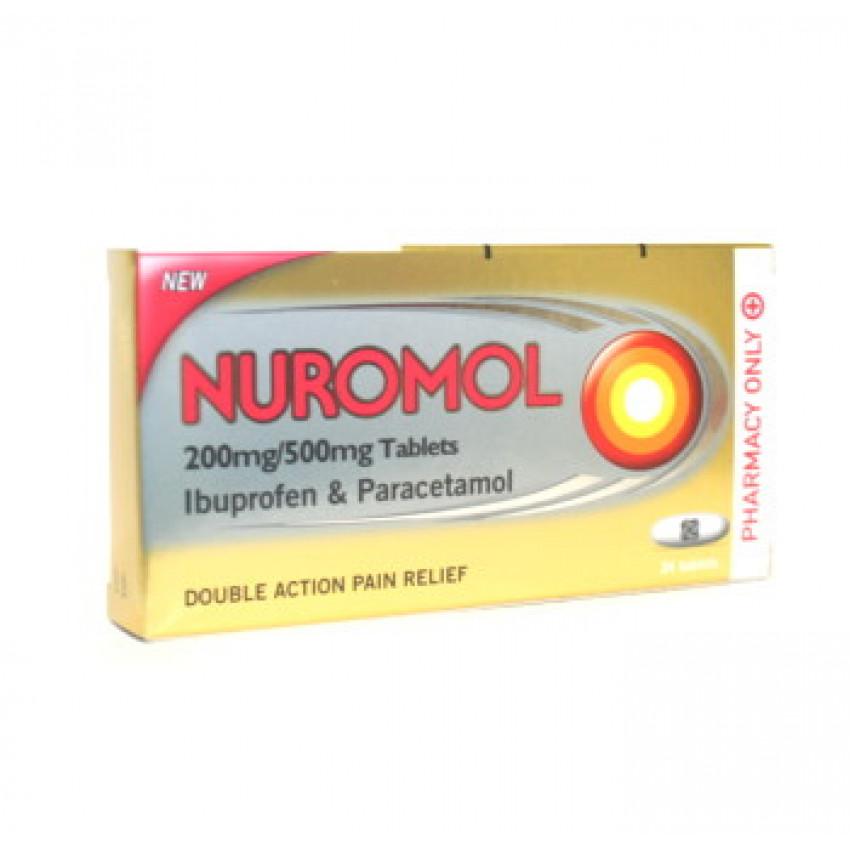 Nuromol 200mg/500mg Tablets 24