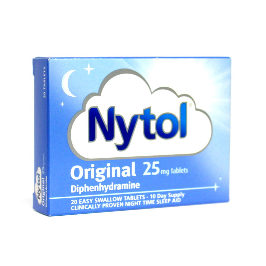 Nytol 25mg Tablets 20