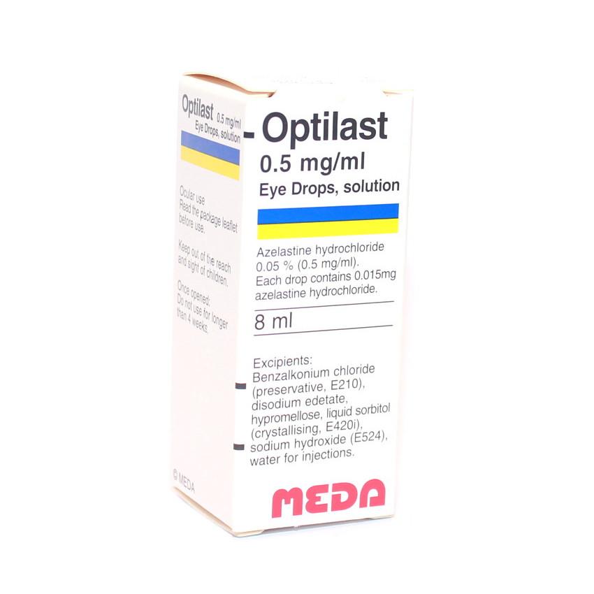 Optilast (Azelastine) Eye Drops 8ml UK