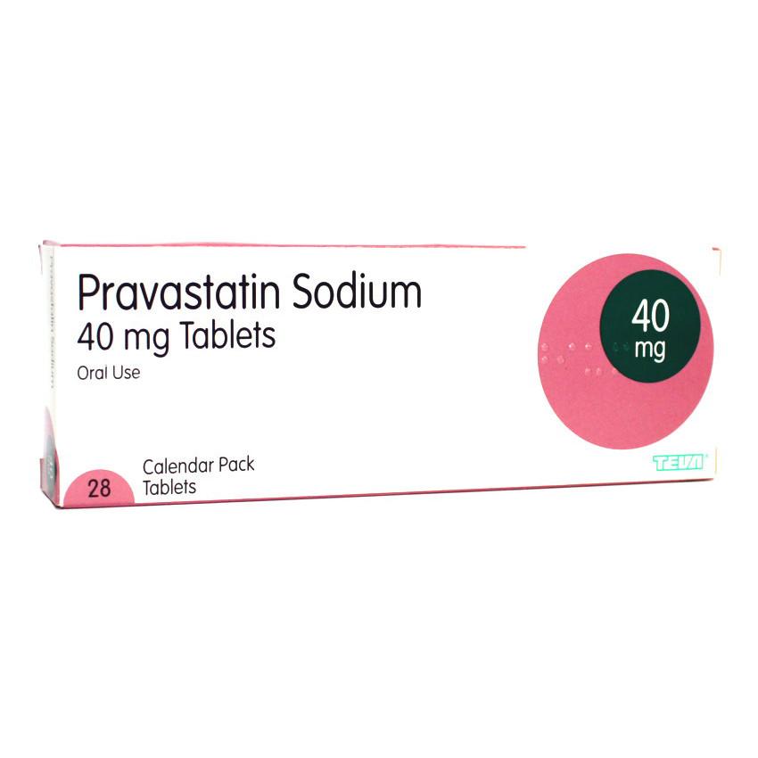 Pravastatin 40mg Tablets 28 UK