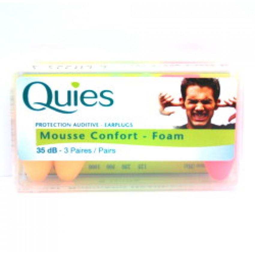 Bq Quies Protection Auditive Earplugs Foam 6