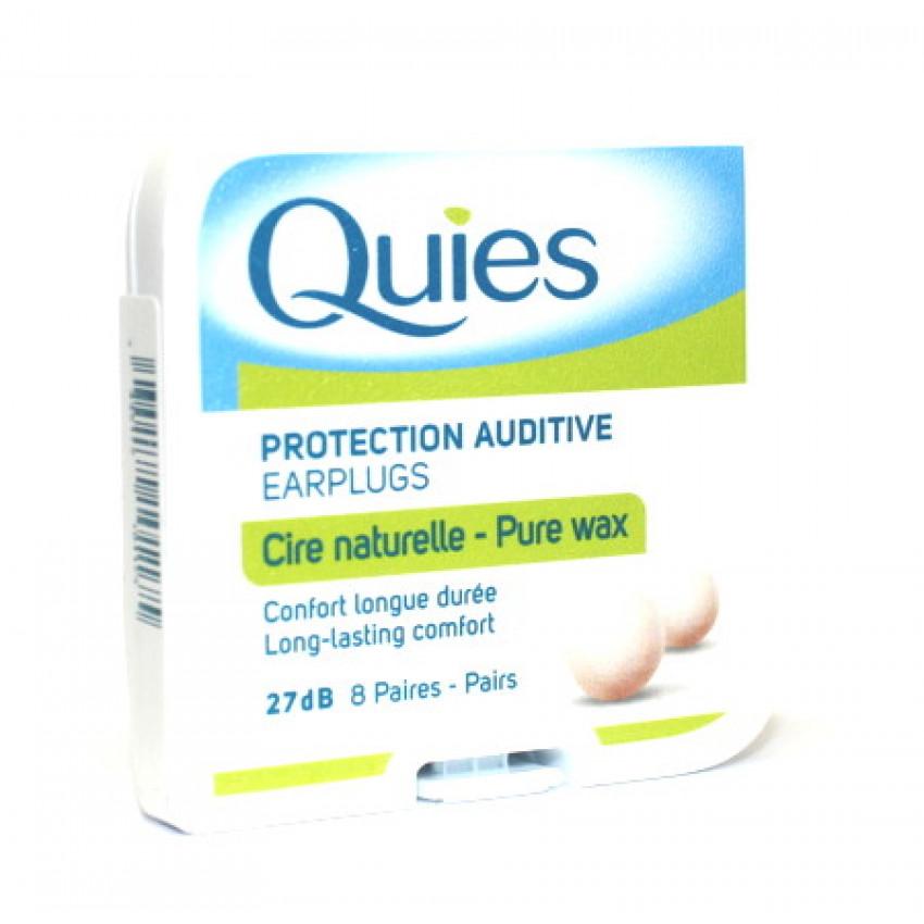Bq Quies Protection Auditive Earplugs Pure Wax 16