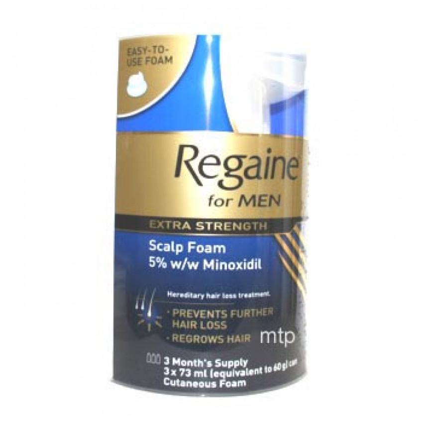 Regaine Extra Strength Scalp Foam 3 X 73ml