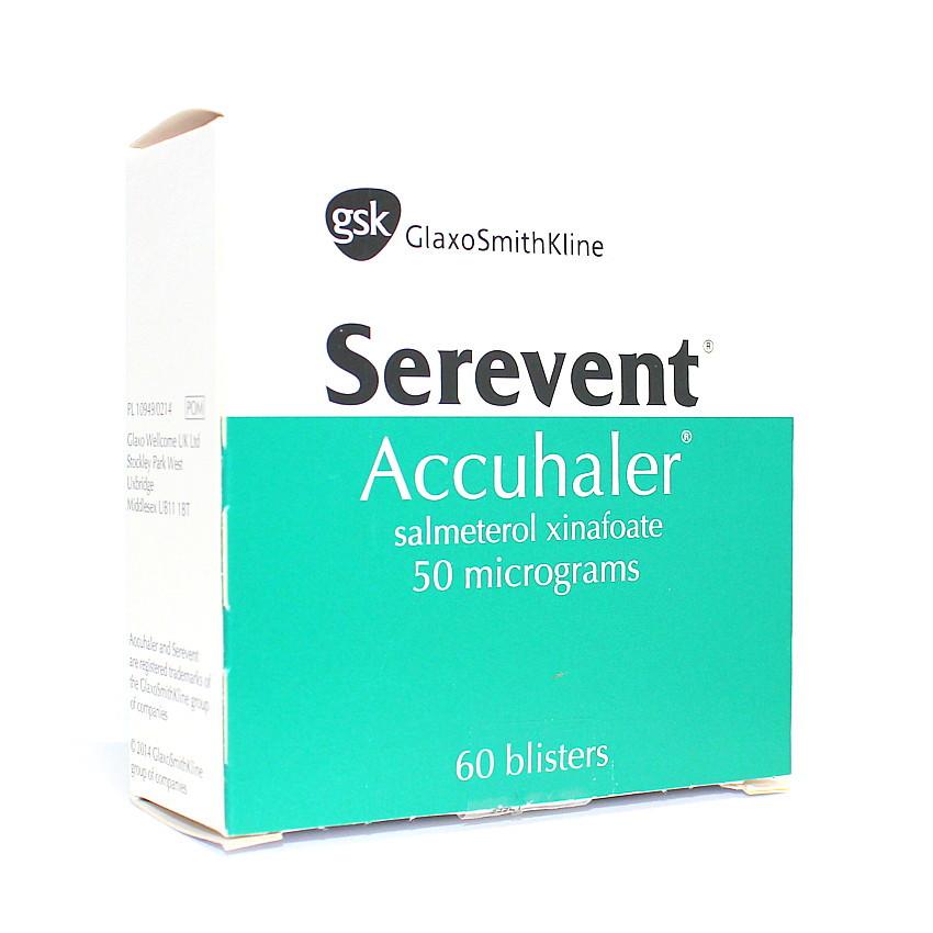 Serevent 50mcg Accuhaler 60 Doses UK