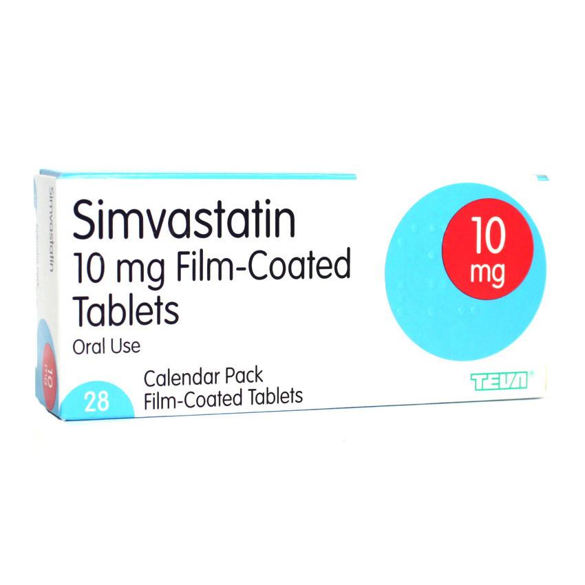 Simvastatin 10mg Tablets 28 UK