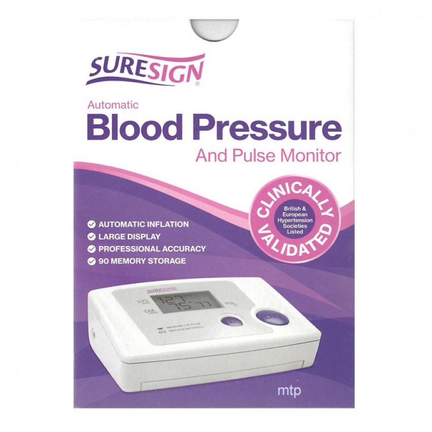 Suresign Blood Pressure Arm Monitor