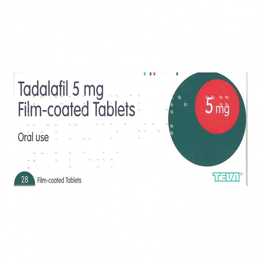 Tadalafil 5mg Tablets 28