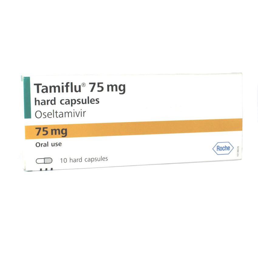 Tamiflu (Oseltamivir) 75mg Capsules 10 UK