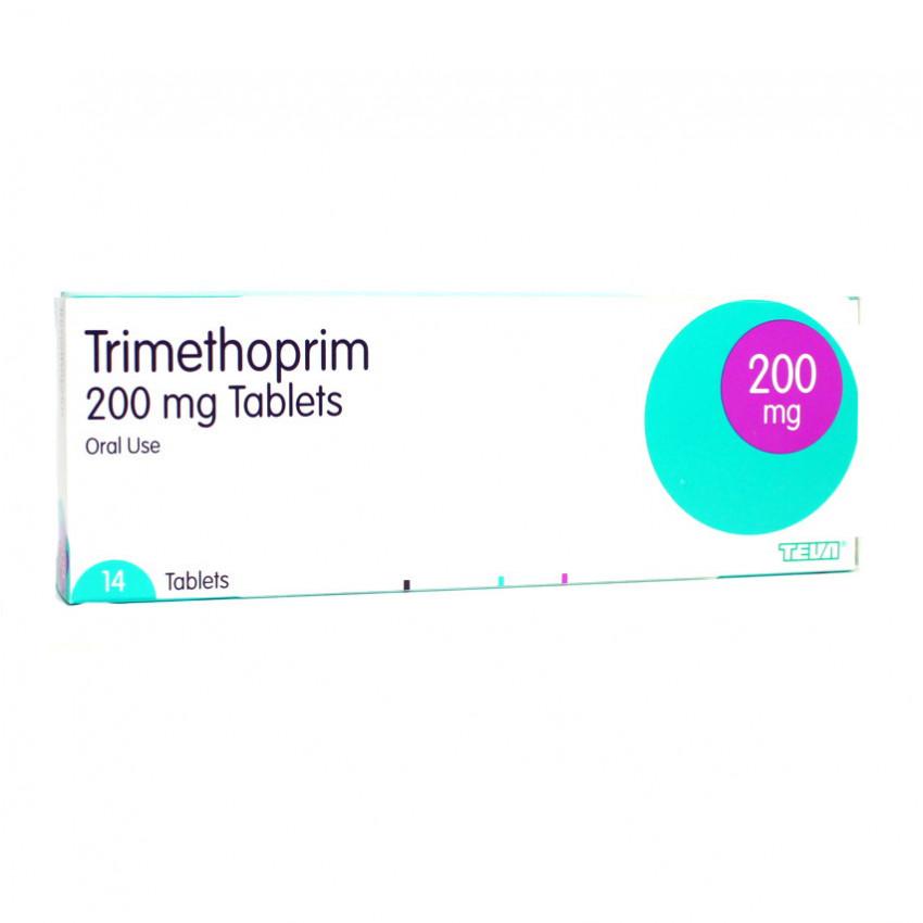 Trimethoprim 200mg Tablets 10 For Cystitis Treatment