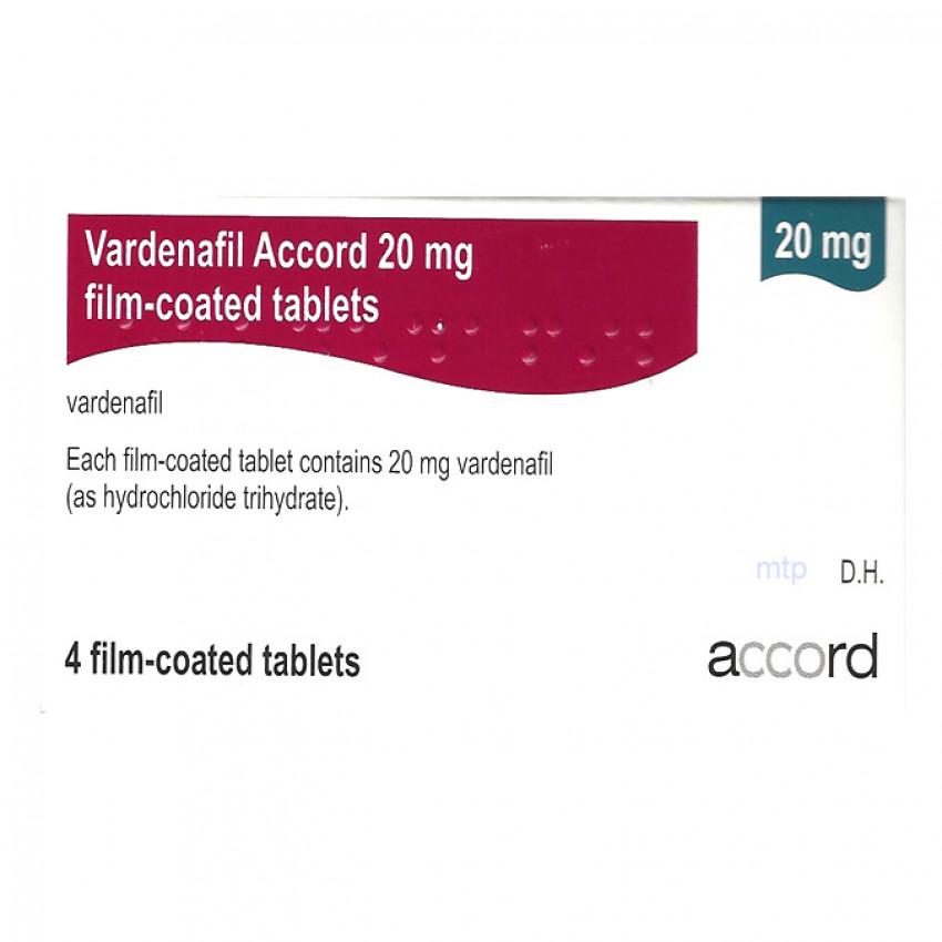 Vardenafil Tablets 20mg 4