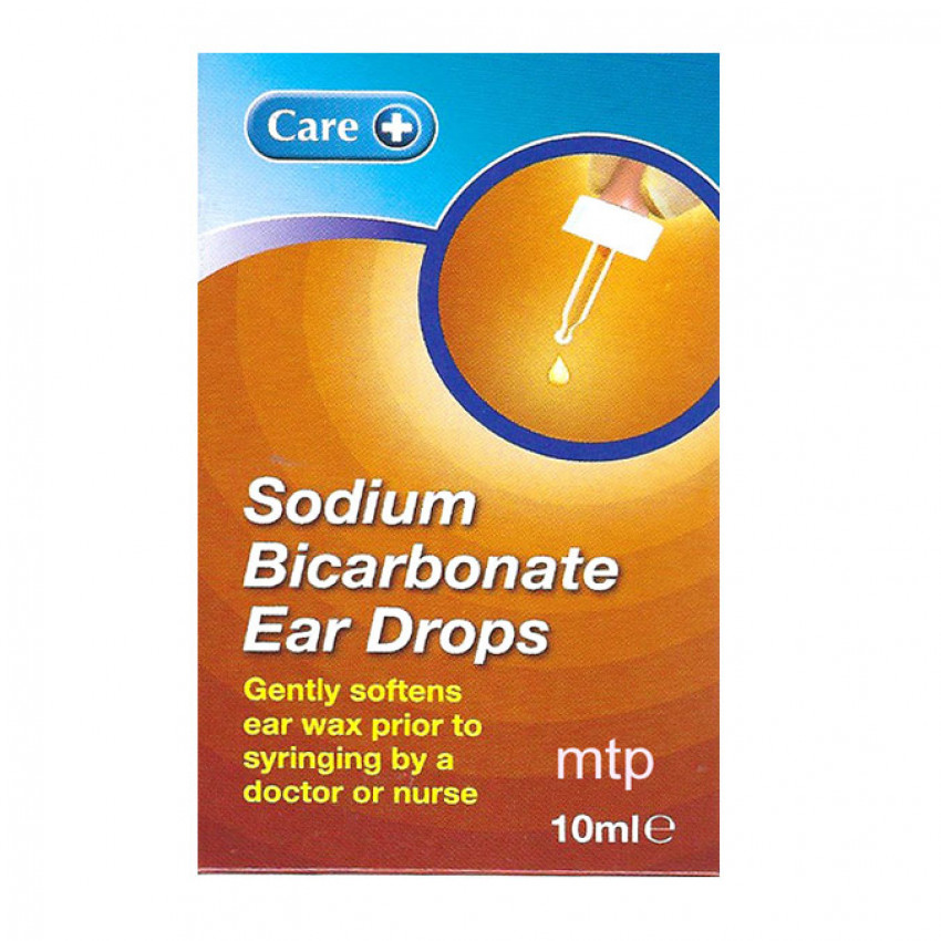 Sodium Bicarbonate Ear Drops 10ml