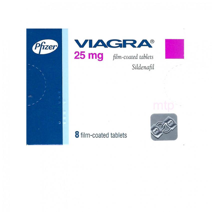 Viagra (Sildenafil) 25mg Tablets (UK) 8