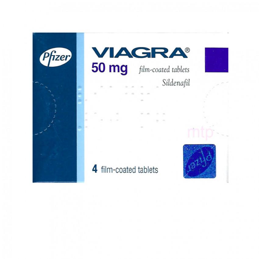 Viagra (Sildenafil) 50mg Tablets (UK) 4